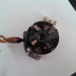 Suport carbuni D6GS12 electromotor Valeo