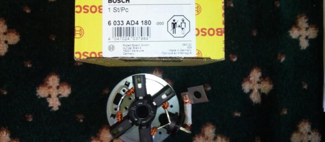Suport carbuni electromotor KHD Bosch 0001231005